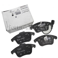 Комплект передних тормозных колодок для VW Jetta 1,4, VAG JZW698151B