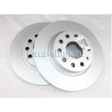 Диск тормозной передний для VW Jetta (1,6 CFNA, CLRA), VAG 1K0615301AK