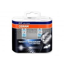 Галогенная лампа Н7 для VW Jetta, Osram Night Breaker Unlimited