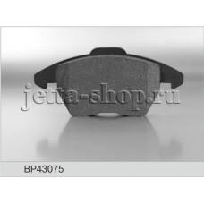 Колодки тормозные передние для VW Jetta, Fenox BP43075