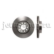 Диск тормозной передний для VW Jetta (1,6 CFNA, CLRA), TRW DF4294