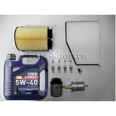 Набор расходников + масло для ТО-2 VW Jetta CAXA 1,4 (122 л.с.)