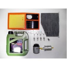 Набор расходников + масло для ТО-2 VW Jetta CFNA, CLRA 1,6 (105 л.с.)