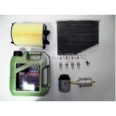 Набор расходников + масло для ТО-2 VW Jetta VI CAXA 1,4 (122 л.с.)