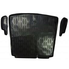Коврик в багажник для VW Jetta (2 кармана) AILERON (полимерный)