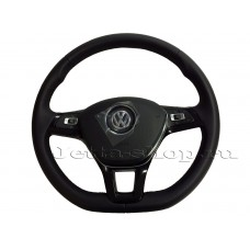 Мульти руль, кожа  для VW Jetta 6 (с 2015 г.в. по н.в.)