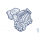 Двигатель и сцепление Volkswagen Jetta VI