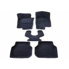3D ворсовые коврики в салон для VW Jetta 6 (с 2010 г.в. по н.в.)