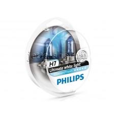 Галогенная лампа Н7 (2шт) для VW Jetta, Philips Diamond Vision (5000К) 12972DVS2