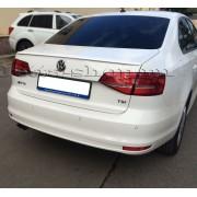 Лип спойлер (белый) для VW JETTA GLI VI (2015-), TOPICAR NV15-6