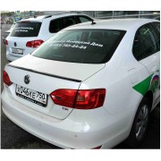 Лип спойлер (белый) для VW JETTA, TOPICAR NV006